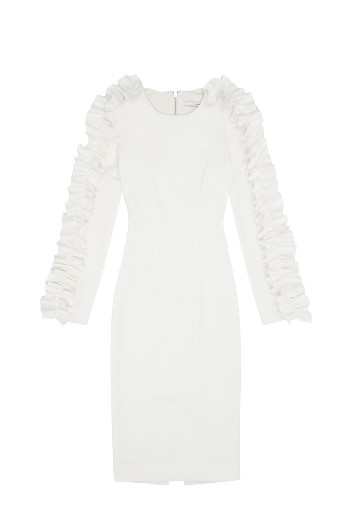 72dpi-239215f2eb-13.-BY-JOHNNY,-Ruffle-Sleeve-Pencil-Dress-White,-400,-www.byjohnny.com.au