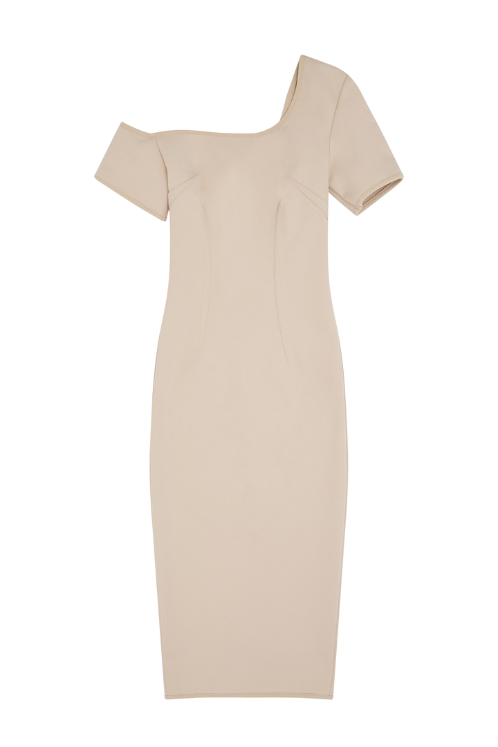 72dpi-239217fda9-12.-BY-JOHNNY,-One-Cold-Shoulder-Pencil-Dress-Nude,-350,-www.byjohnny.com.au