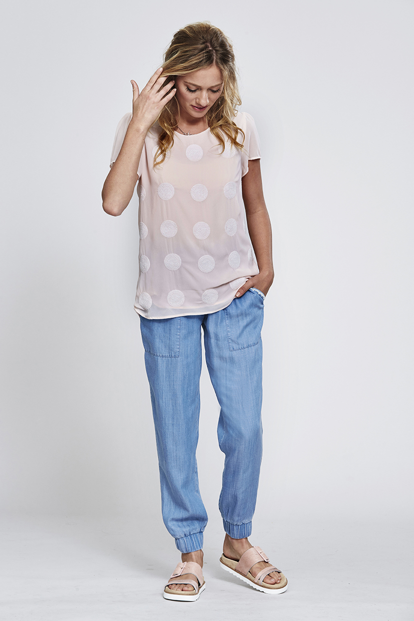 MS144 Soft Spot Top MS140 Jogger Pant