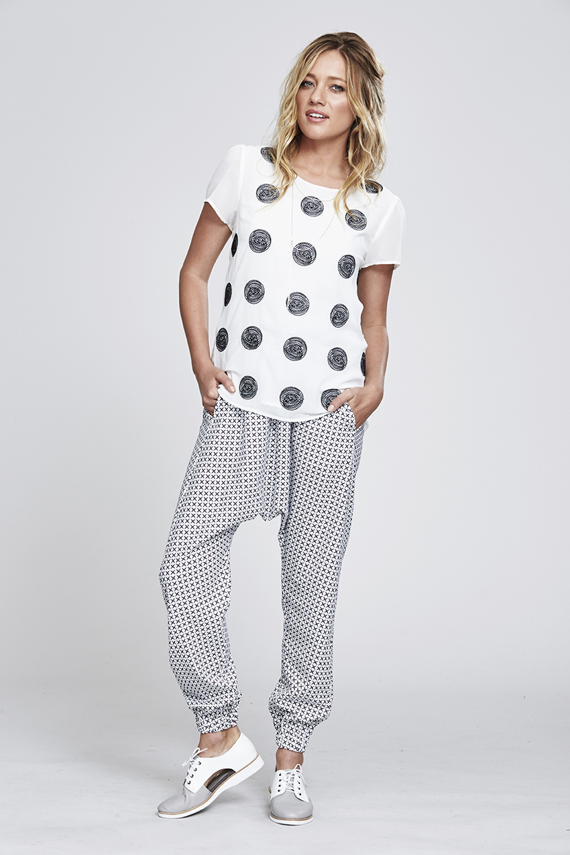 MS144 Soft Spot Top MS85P Ptd Dream Pant