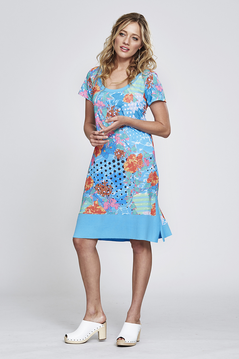 MS156 Hibiscus Way Dress