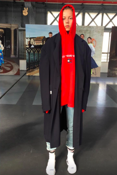 Vetements and Tommy Hilfiger announced their collaboration for SS18
