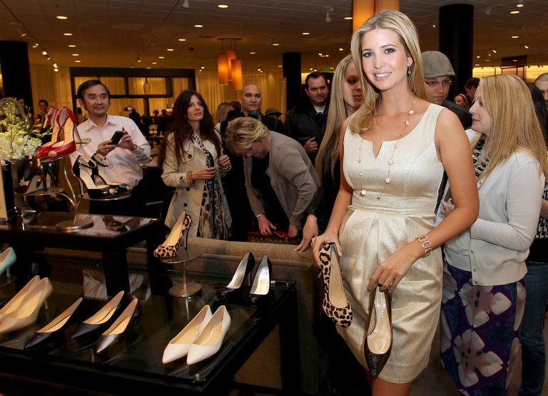 Ivanka Trump's clothing brand has gone seriously downhill since her father became president, but her next move will be opening a new store in Trump Towers.