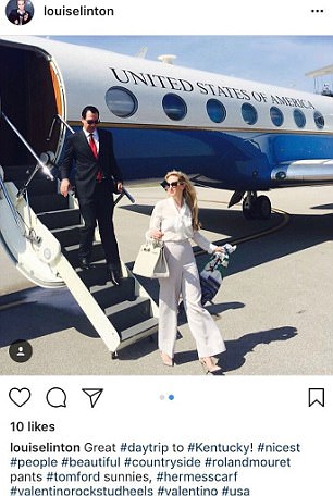 Louise Linton, the wife of US Secretary Treasurer, ran into hot water when she tagged luxury brands on an insensitive  Instagram post. Valentino has both spoken out to say they had no business arrangement with Linton and were unaware she was going to tag them.