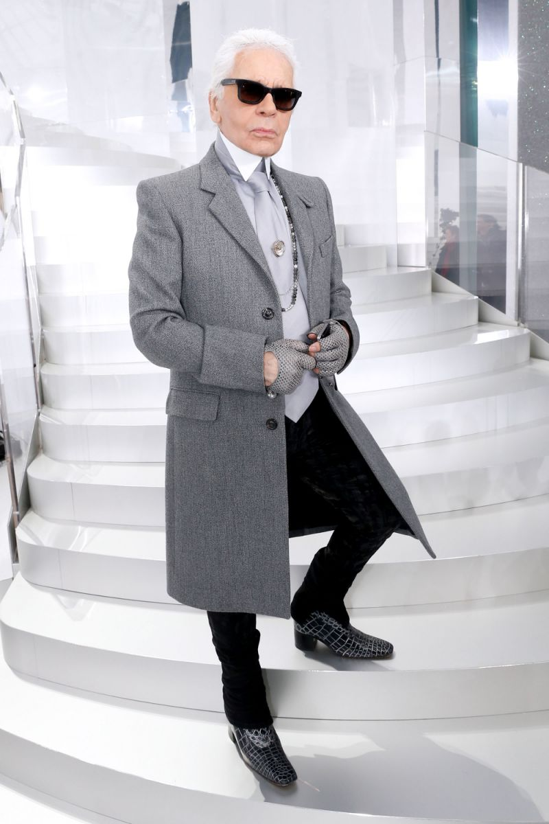 Karl Lagerfeld will be designing a collection of Vans.