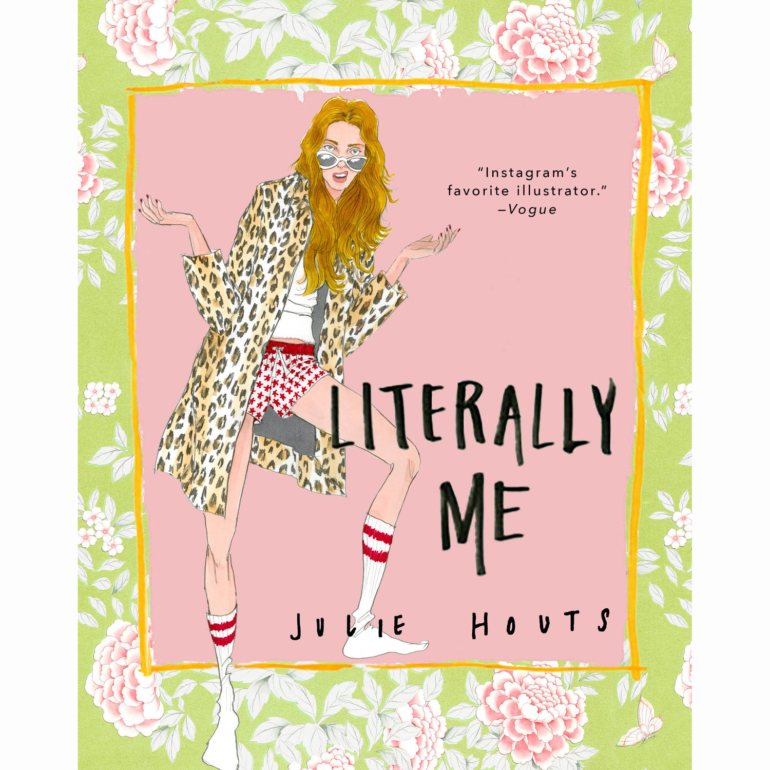 Instagram illustrator extraordinaire, Julie Houts, announced she is releasing a book of her popular illustrations.
