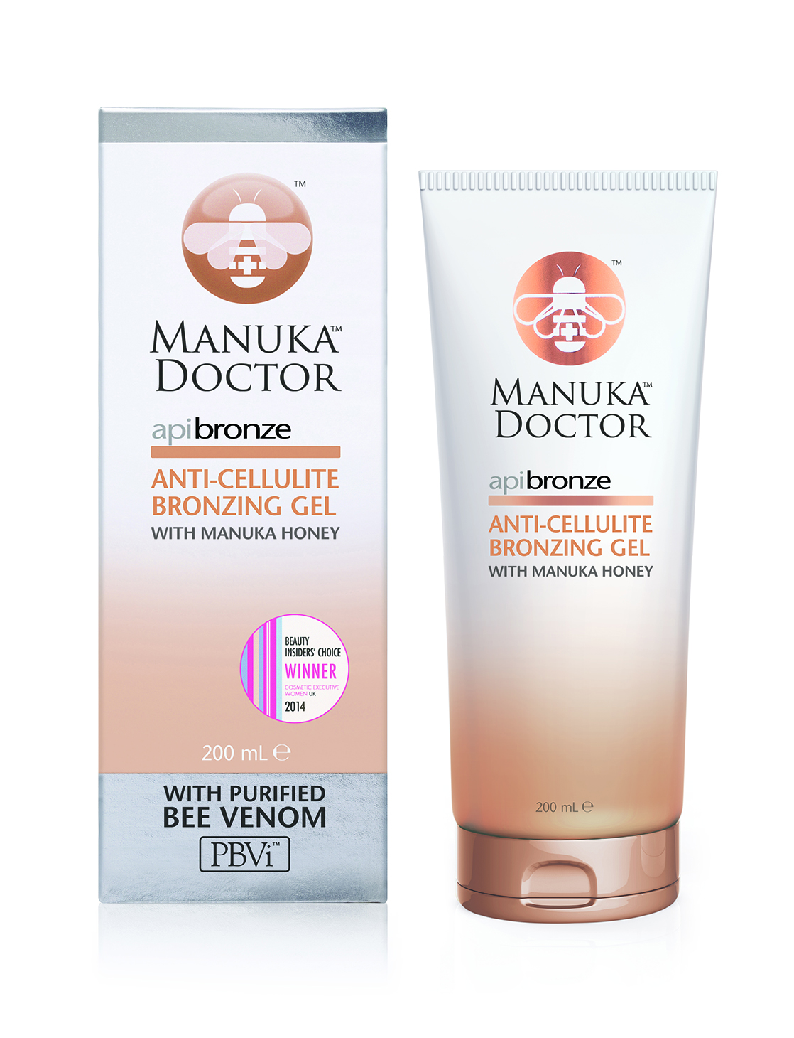 Manuka Doctor ApiBronze Anti-Cellulite Bronzing Gel 200ml RRP$34.95 (2)