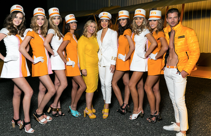 Kathryn Wilson debuted her S/S 17 collection at Clicquot In The Snow in Queenstown.