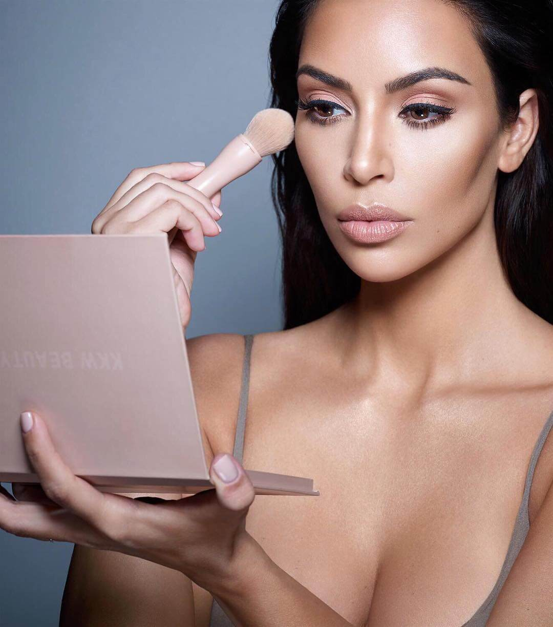 Kim Kardashian released her powder contour kits, which sold out in three hours.