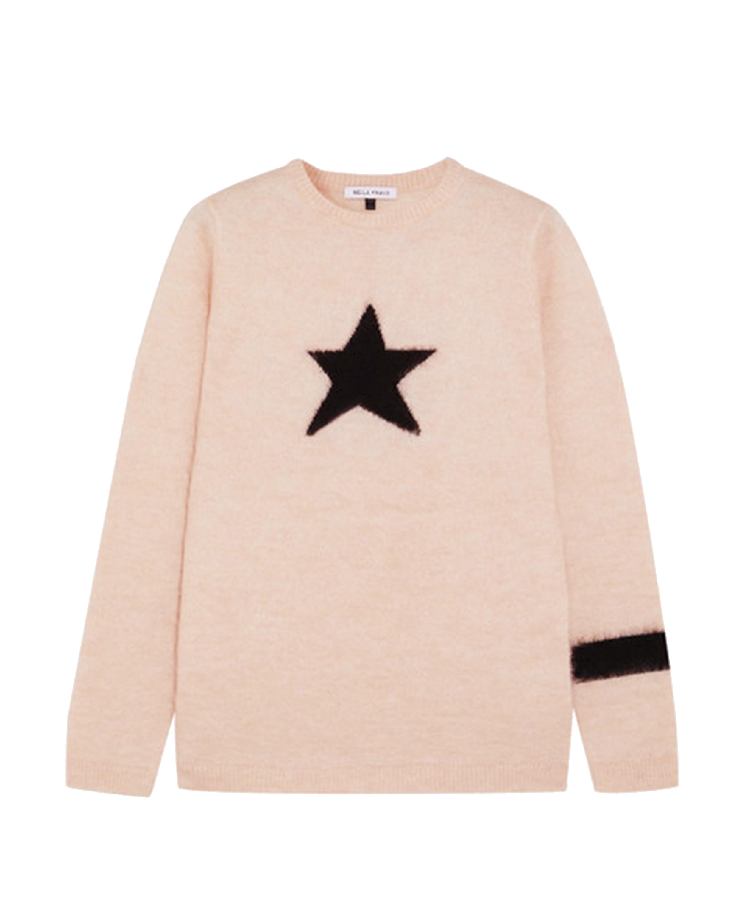 Bella Freud 7 - Mohair Star Jumper - Pink