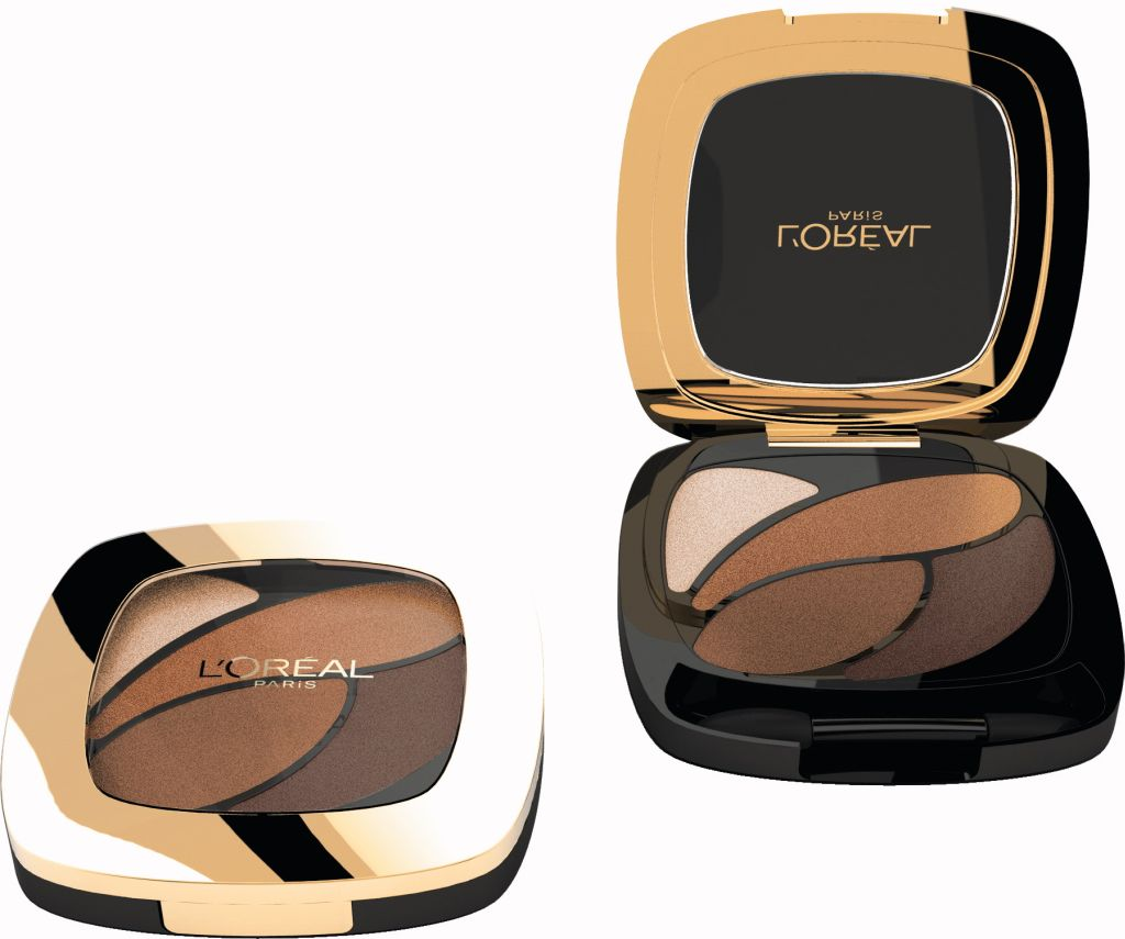 L'Oreal Paris Colour Riche Les Ombres Quad Eyeshadow - Forever Bronze RRP $29.99 (1)