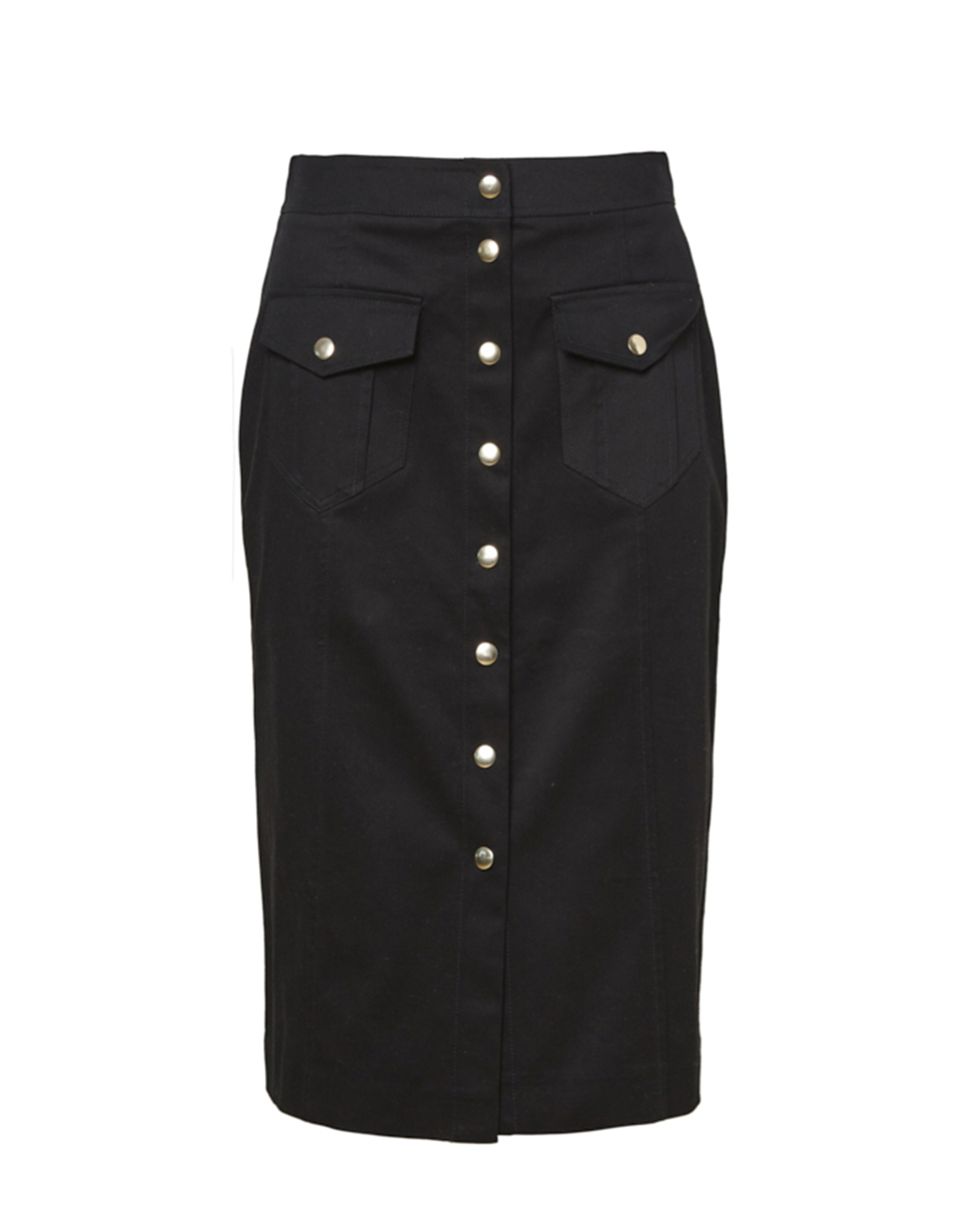 Rika 32 - Ruby Dome Skirt - Black