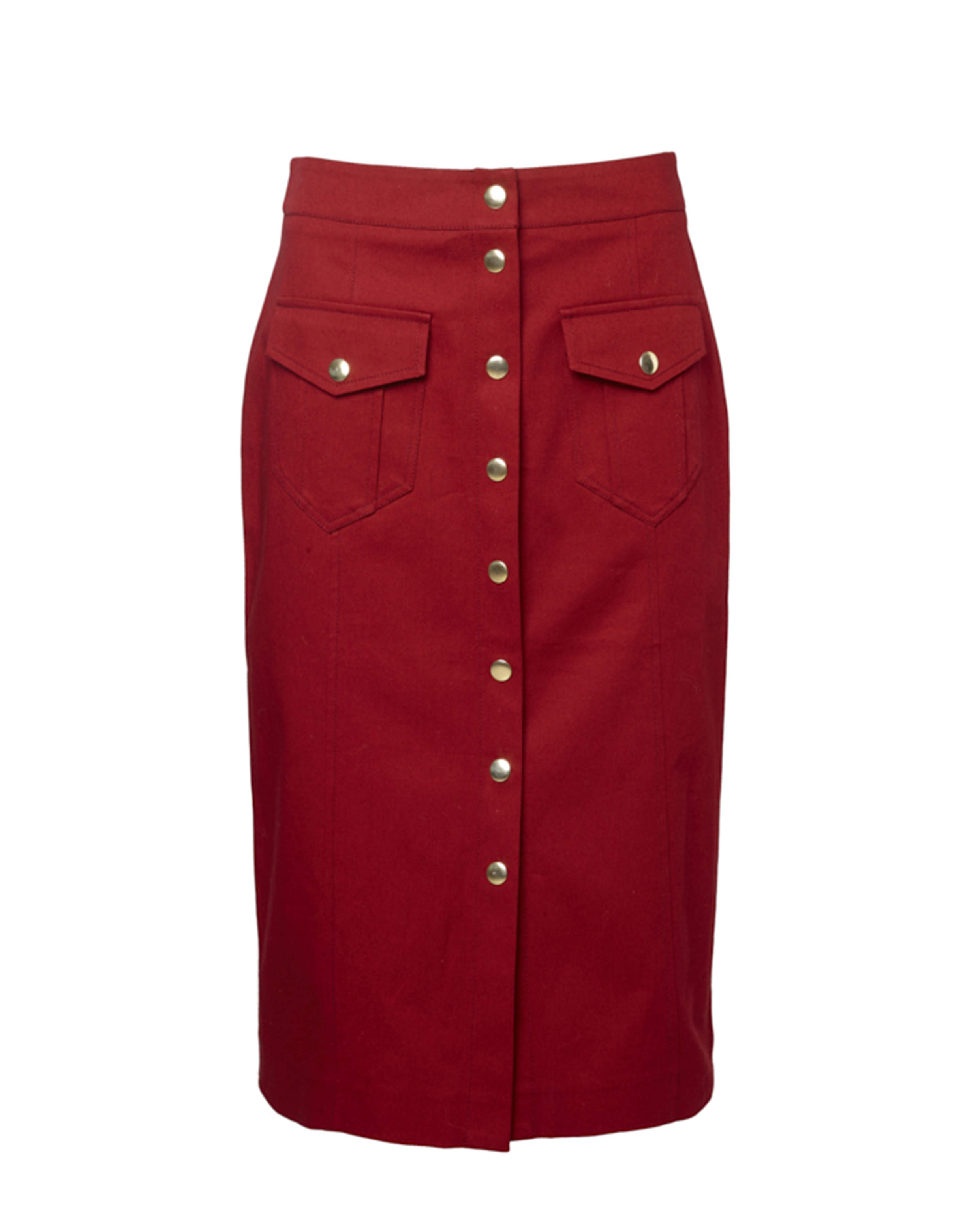 Rika 33 - Ruby Dome Skirt - Red