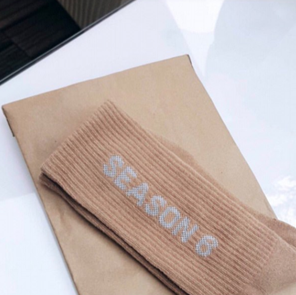 Kanye West will be showing Yeezy Season 6 at Paris Fashion Week, invitations were sent out via socks.