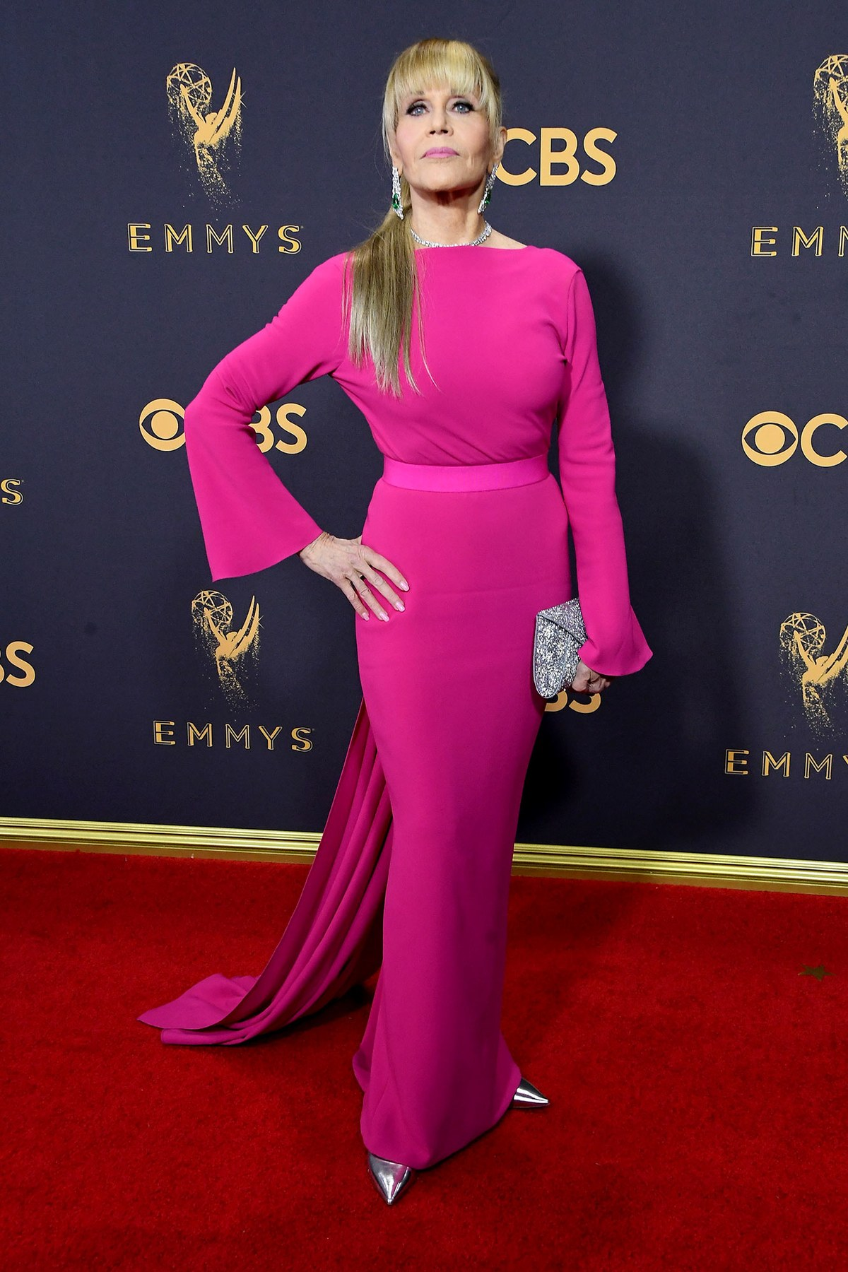 Jane Fonda wears Brandon Maxwell