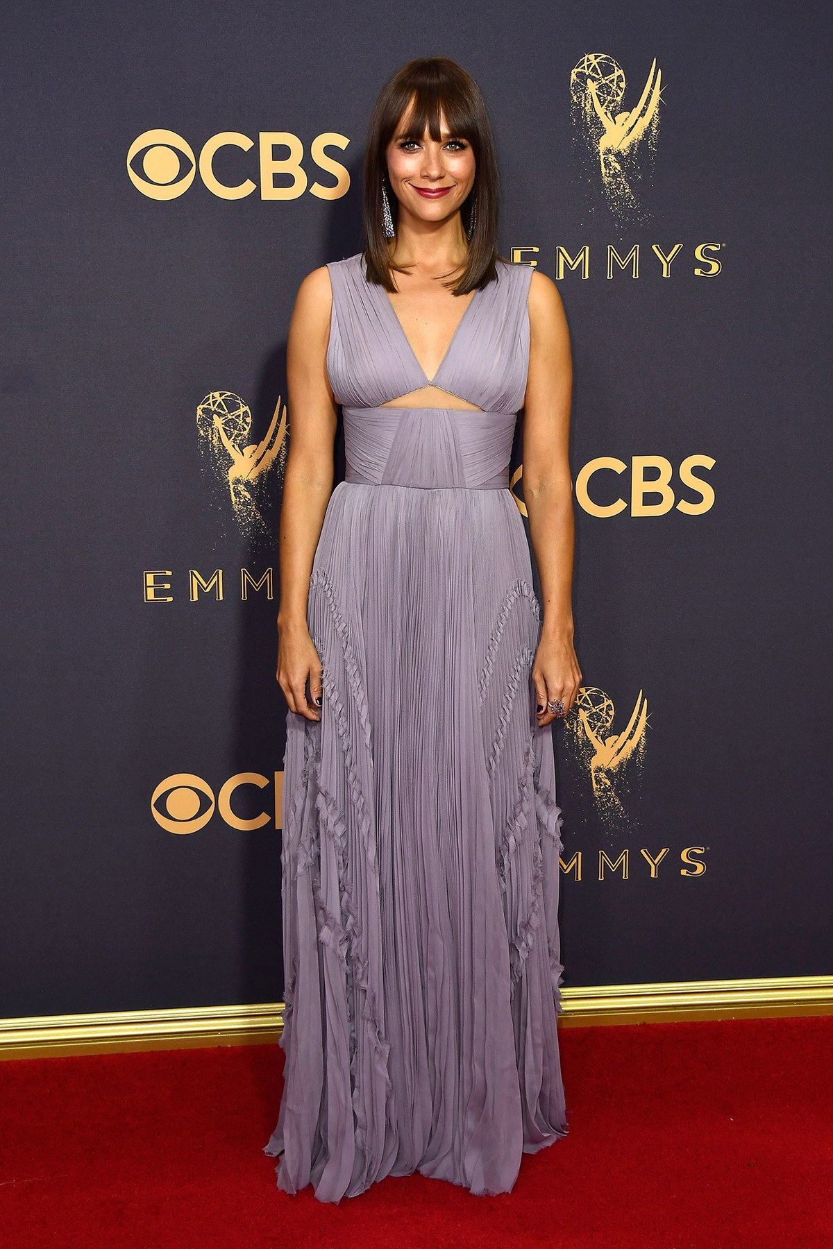 Rashida Jones wears J Mendel