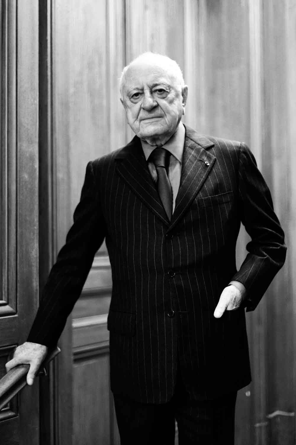 Pierre Bergé, the co-founder of Yves Saint Laurent, passed away this week.