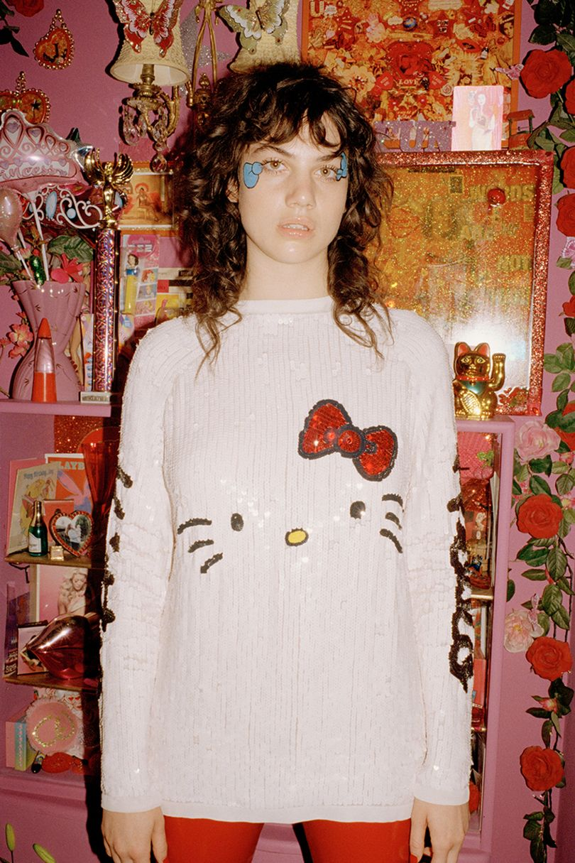 ASOS have released a 40 piece Hello Kitty collection.