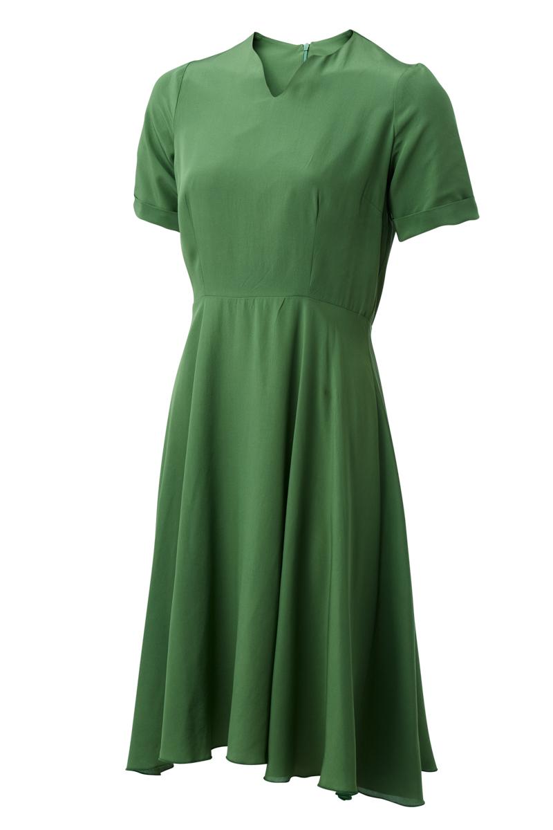 ANITA DRESS IN KALE