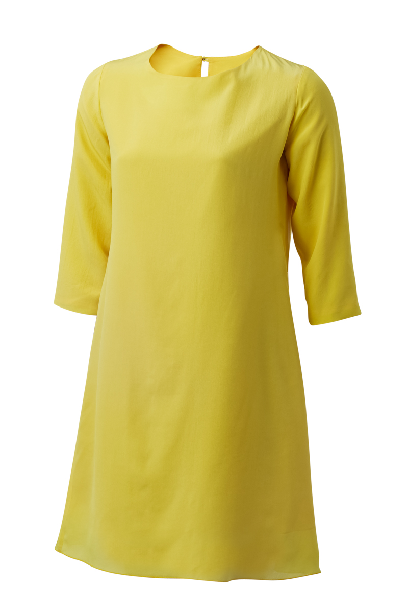 BAE DRESS IN YELLOW
