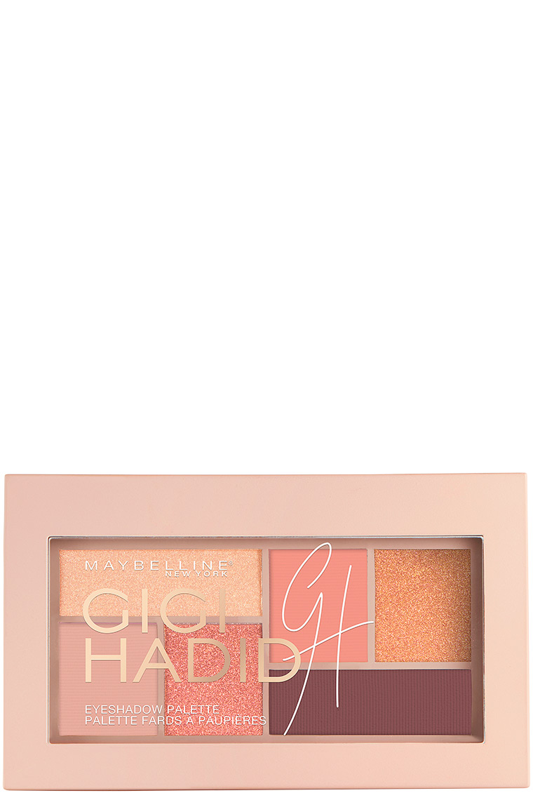 Gigi x Maybelline West Coast Glow Eye Shadow Palette