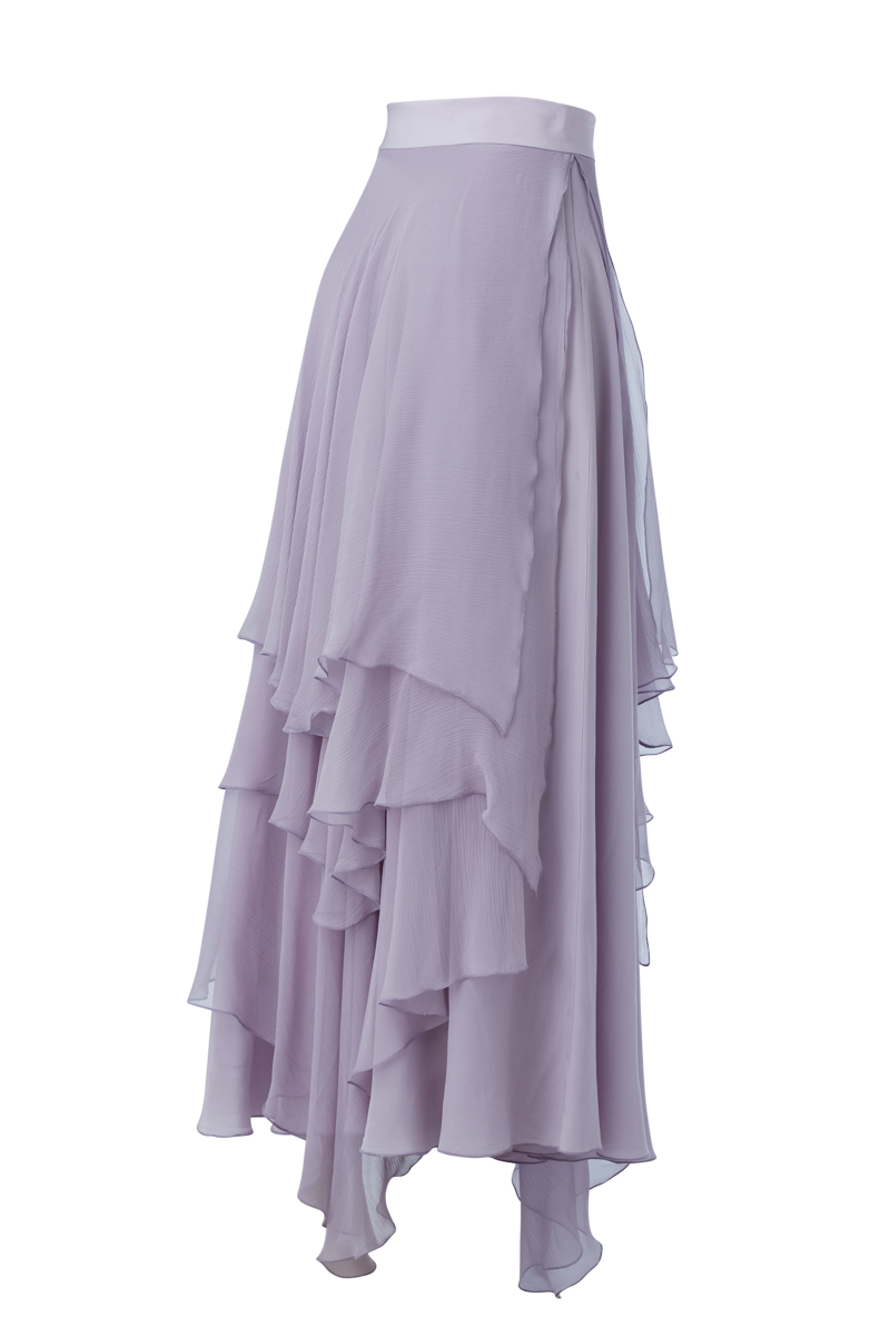 LEELA SKIRT IN LILAC BACK