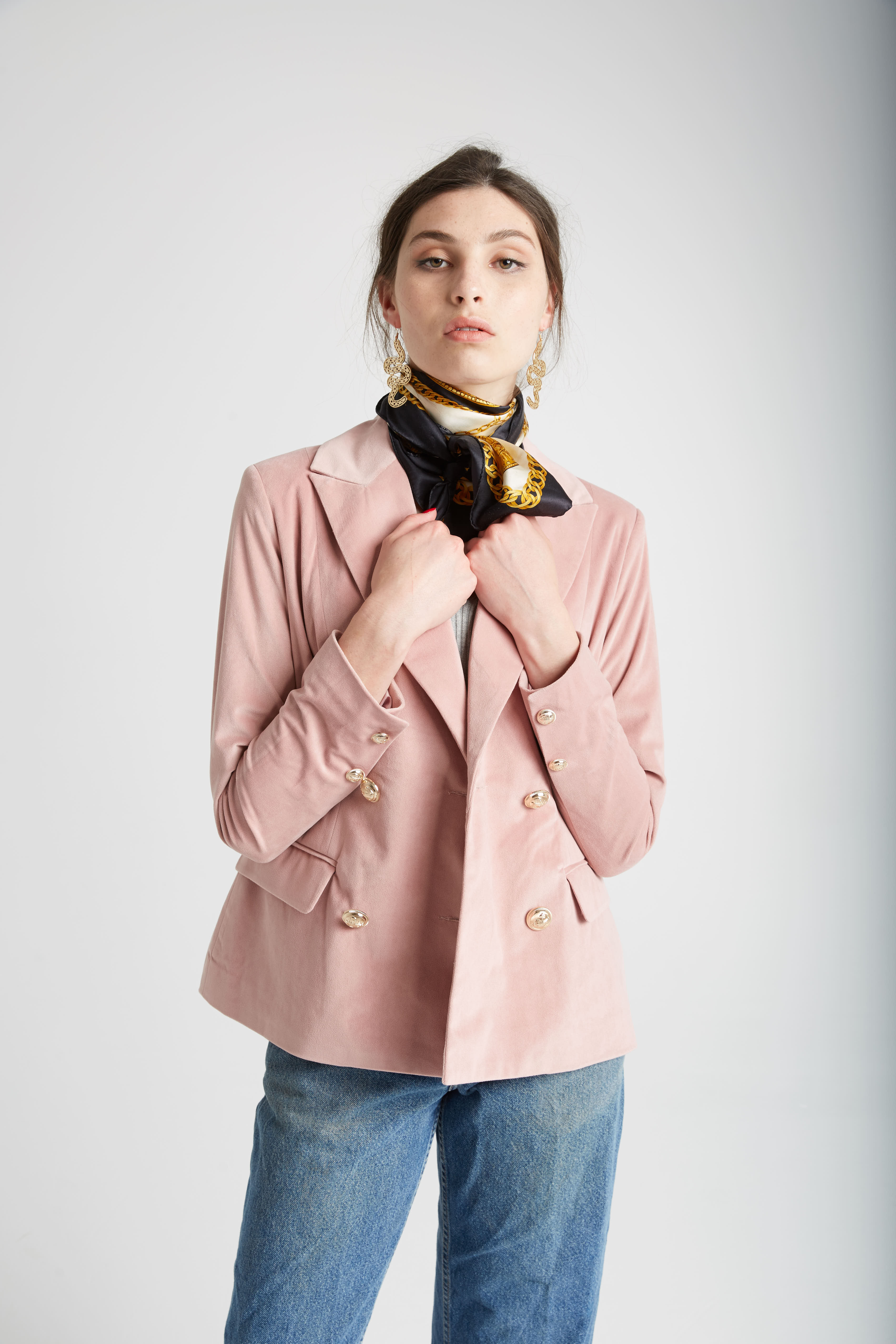 RUBY_BUBBLEGUM_BLAZER_RUBY_MARS_WRAP_TOP_VINTAGE_LEVIS