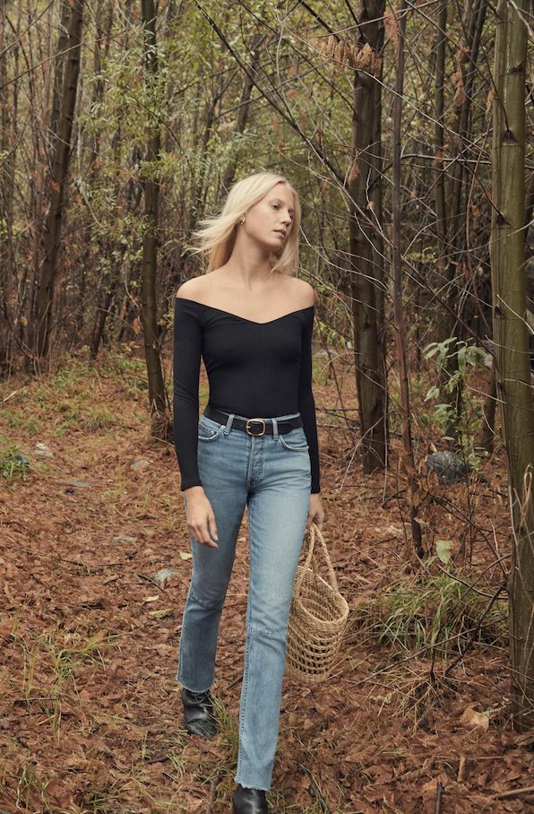 Eco-friendly brand, Reformation, have released a new sister line with denim and basics.