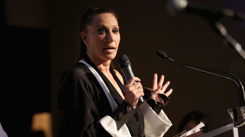 Donna Karan is also facing backlash from within the fashion industry after stating that women dressing provocatively are 'asking for trouble'.