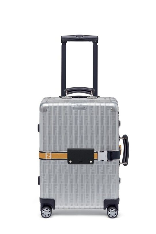 Fendi now makes luggage! Their new category of products will be available for purchase from December.