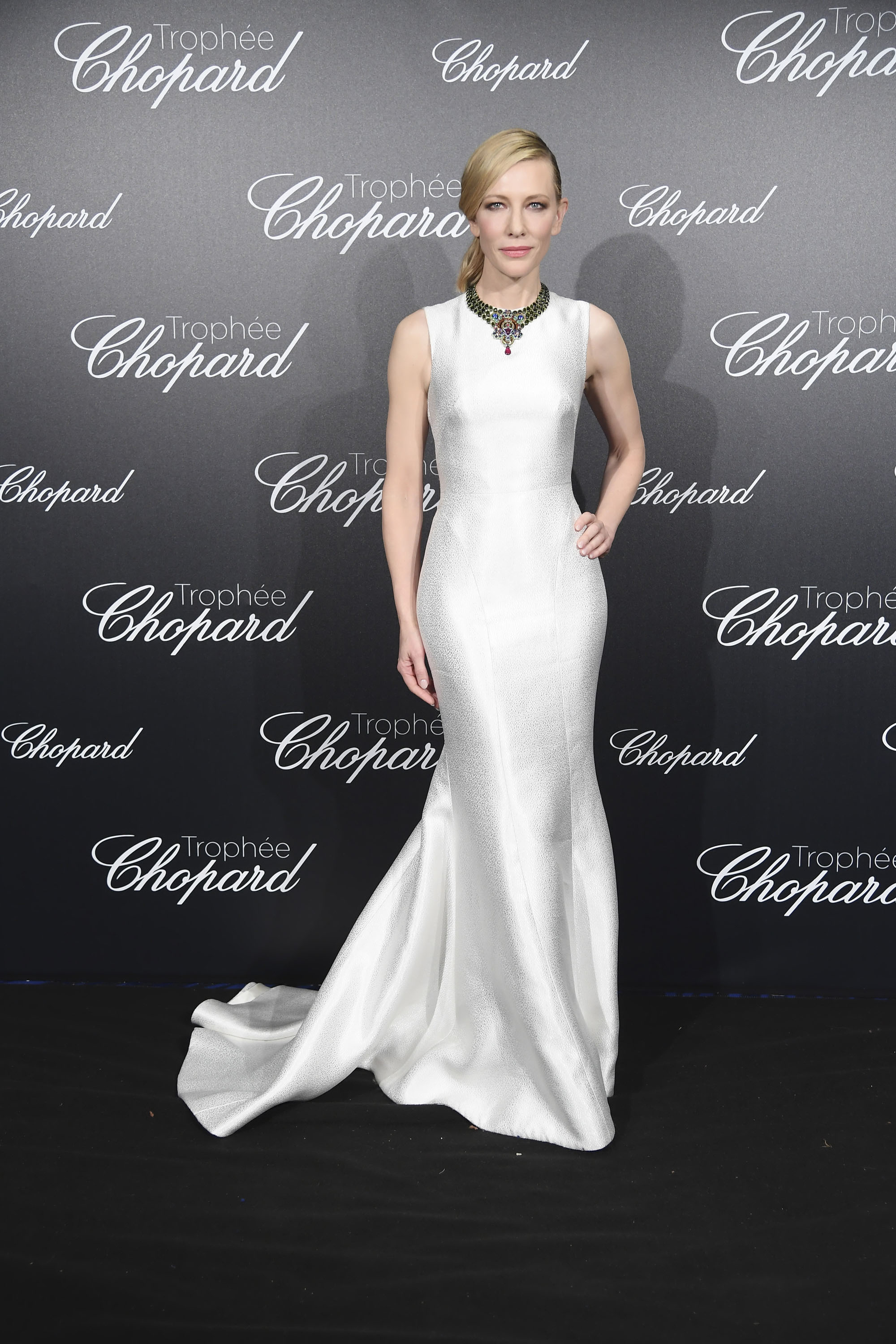 Cate Blanchett wore a Giorgio Armani gown during the Cannes Film ...
