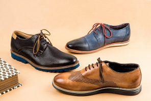 the leather shoe popularity is collapsing