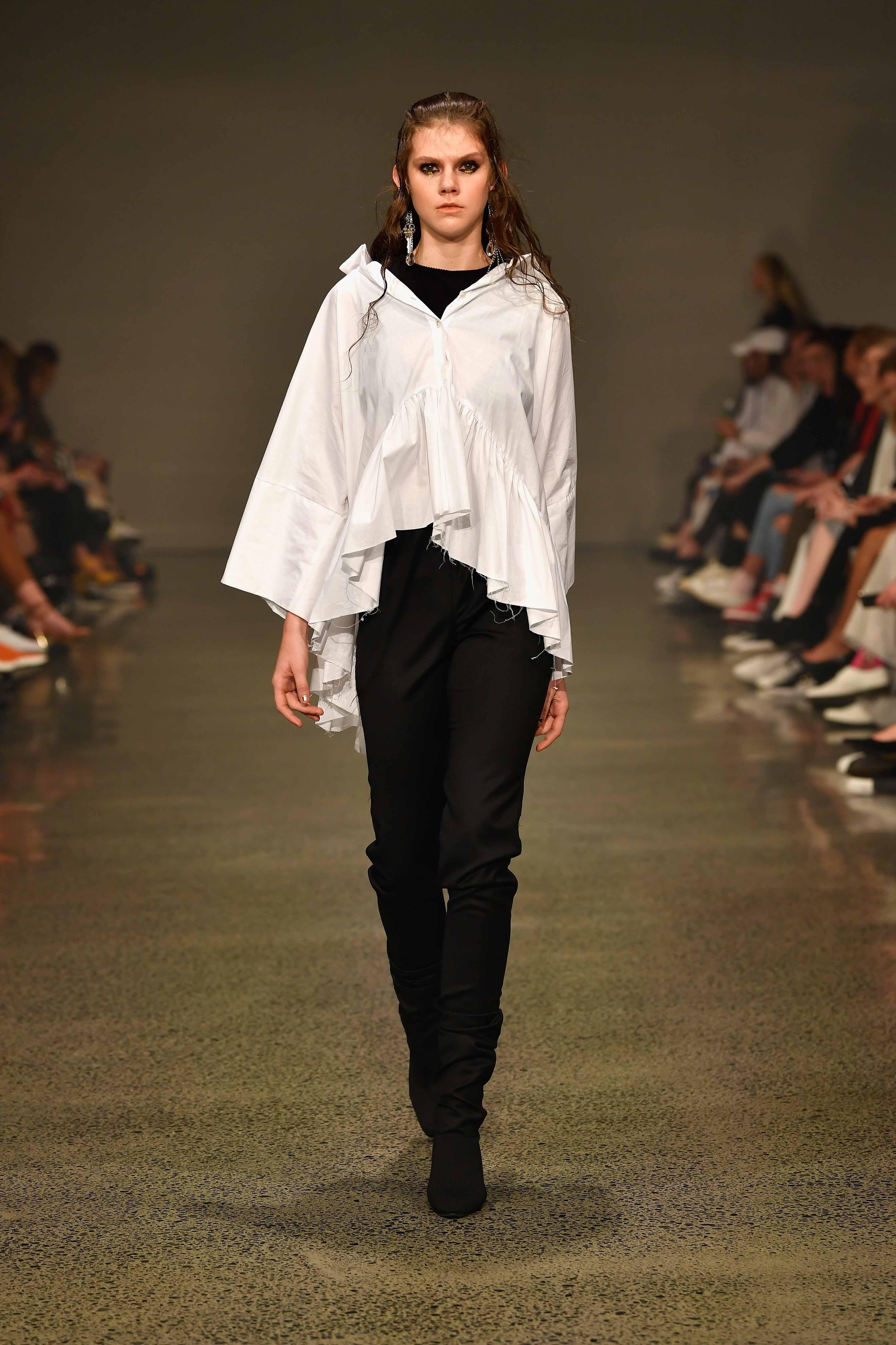 Jarrad Godman Contemporary Salon - Runway - New Zealand Fashion Week 2018