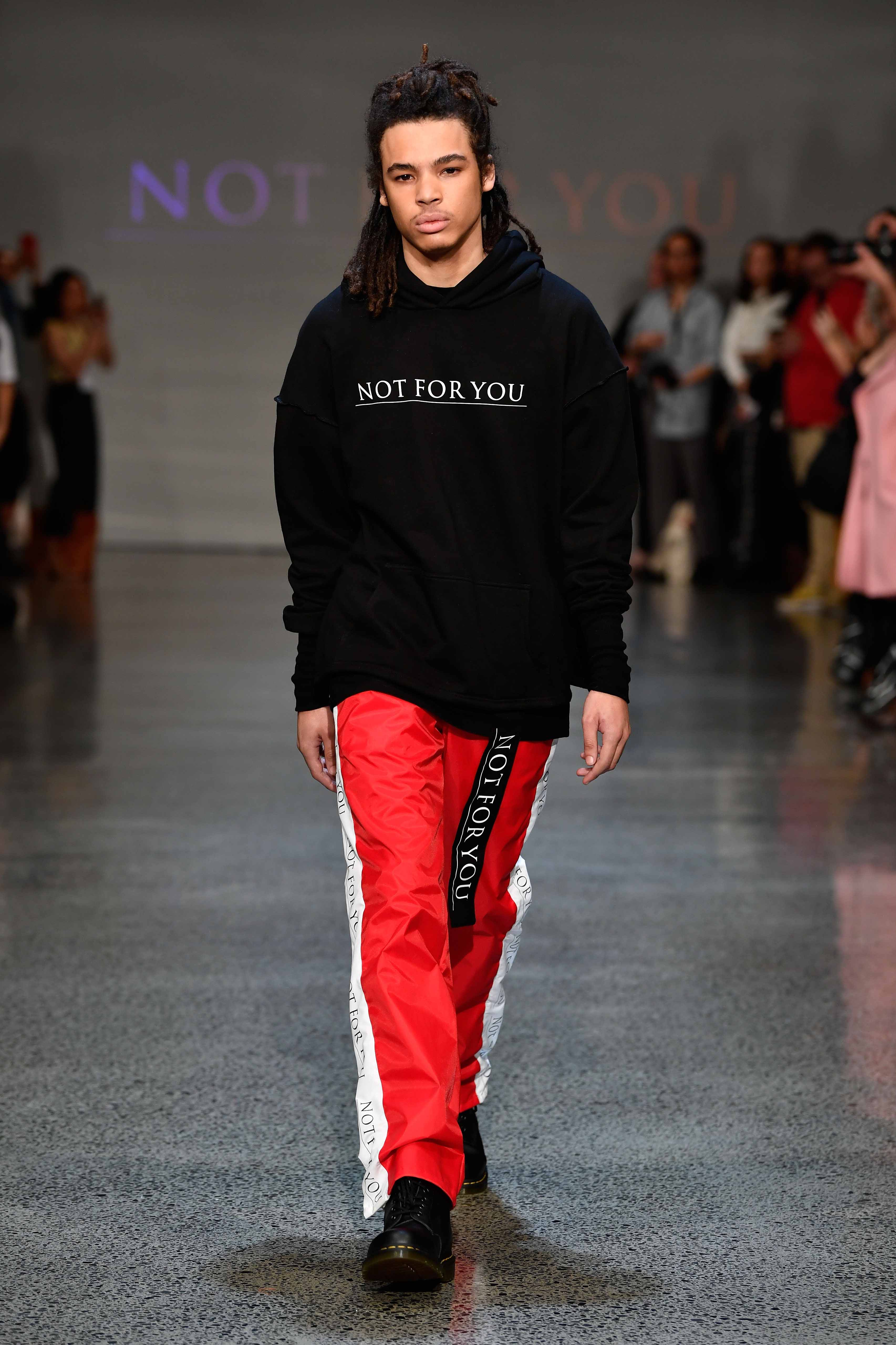 Not For You (N.F.U) Contemporary Salon - Runway - New Zealand Fashion Week 2018