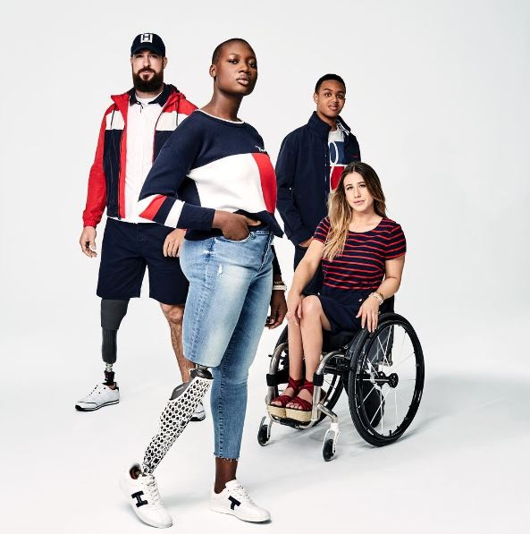 tommy hilfiger campaign featuring people with disabilities