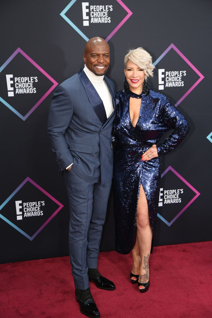 Terry Crews and Giuliana Rancic