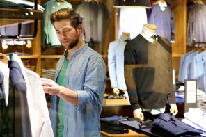 A brief look at masculine shopping trends