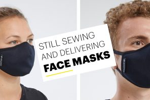 COVID-19: Entire clothing factory converts to making face masks