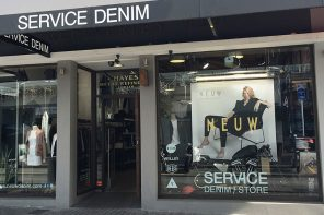 Visual Merchandising with Service Denim