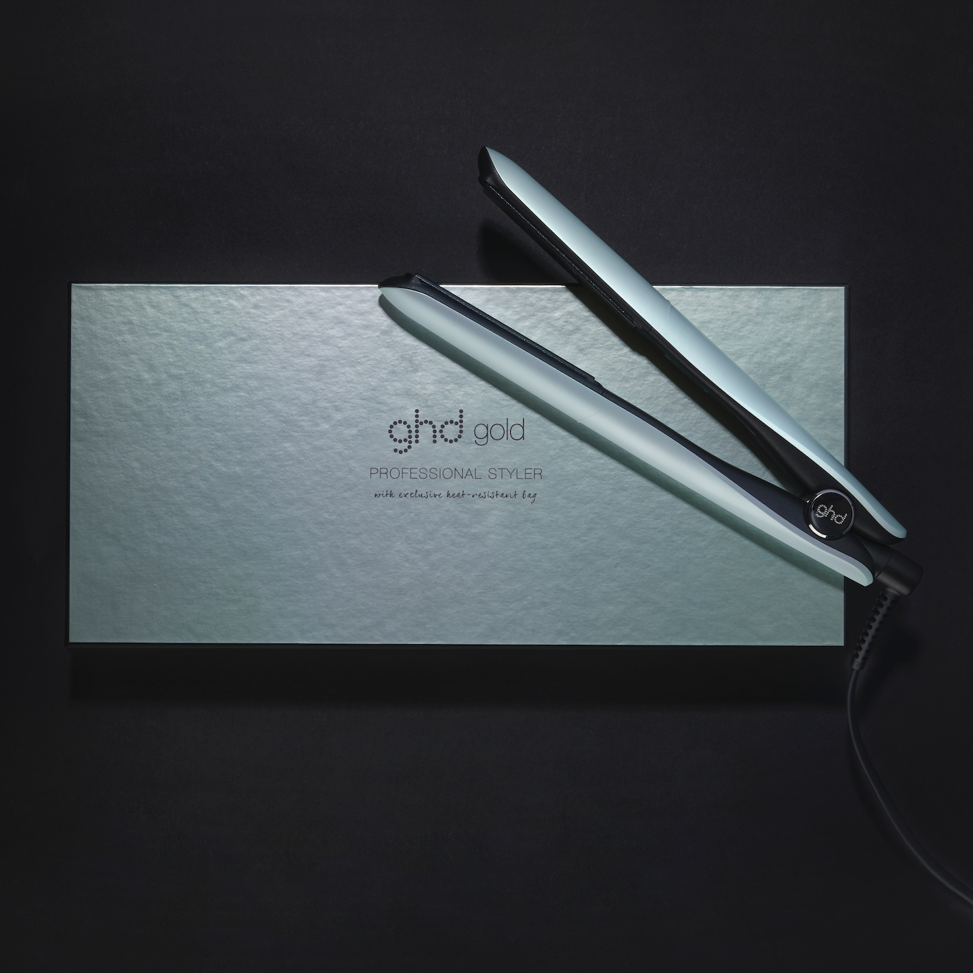 ghd Upbeat Collection gold styler_Campaign Imagery_Neo-Mint (4)