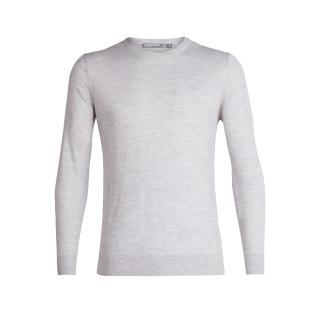 Shearer Crewe Sweater - Colour Block - Grey- RRP_ $179.99.