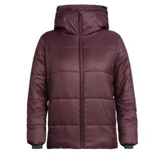 Womens Collingwood Hooded Jacket - Purple RRP_ $449.99
