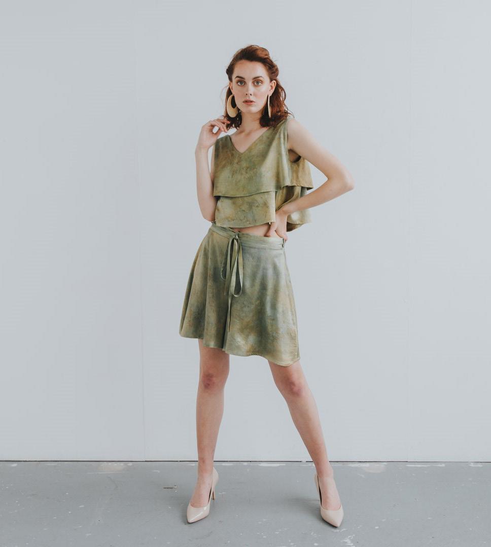 Nature's Bounty blouse and Culotte Celeste Elena SS2020 (1)-1