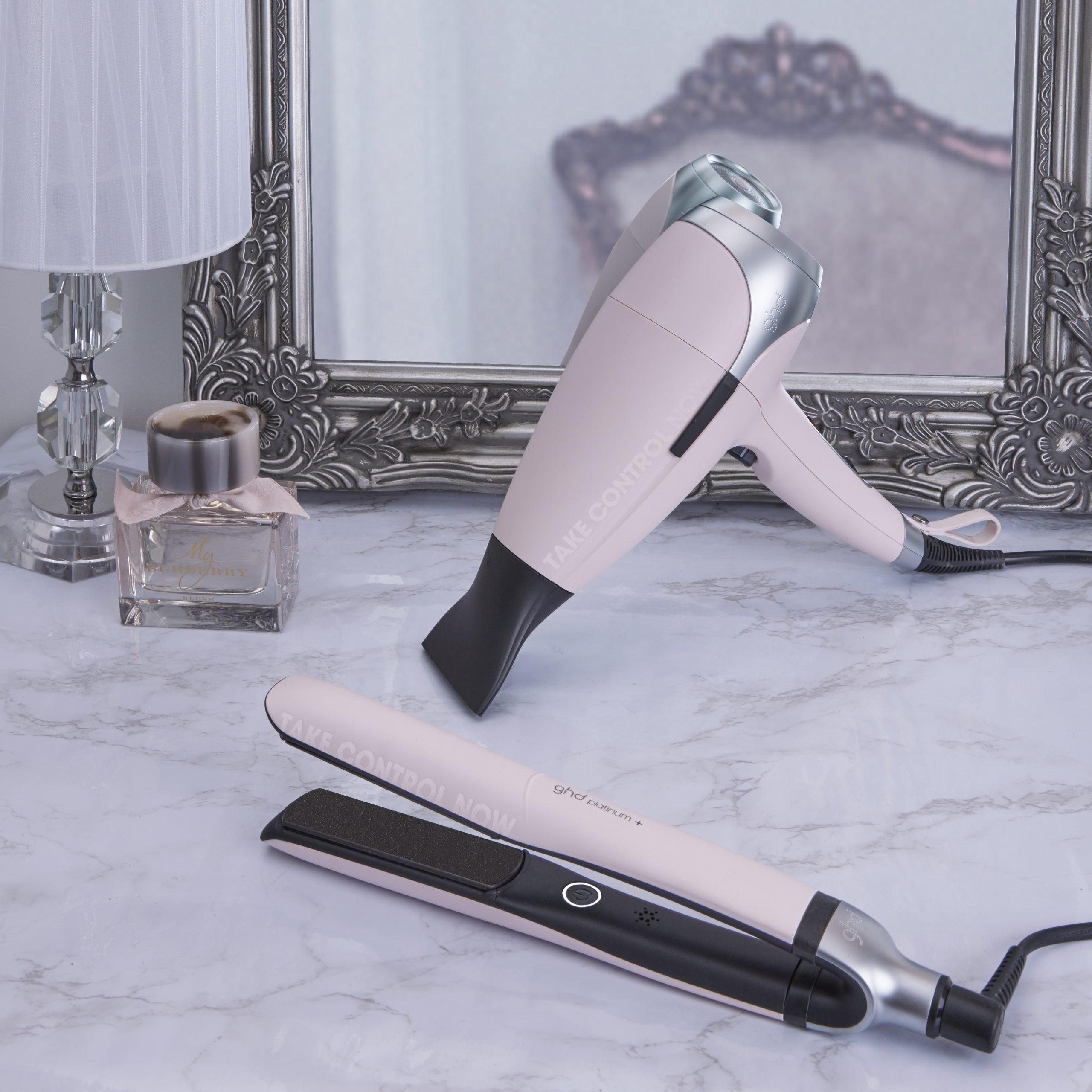 ghd Pink_platinum+ styler and helios_RRP $395 and $330