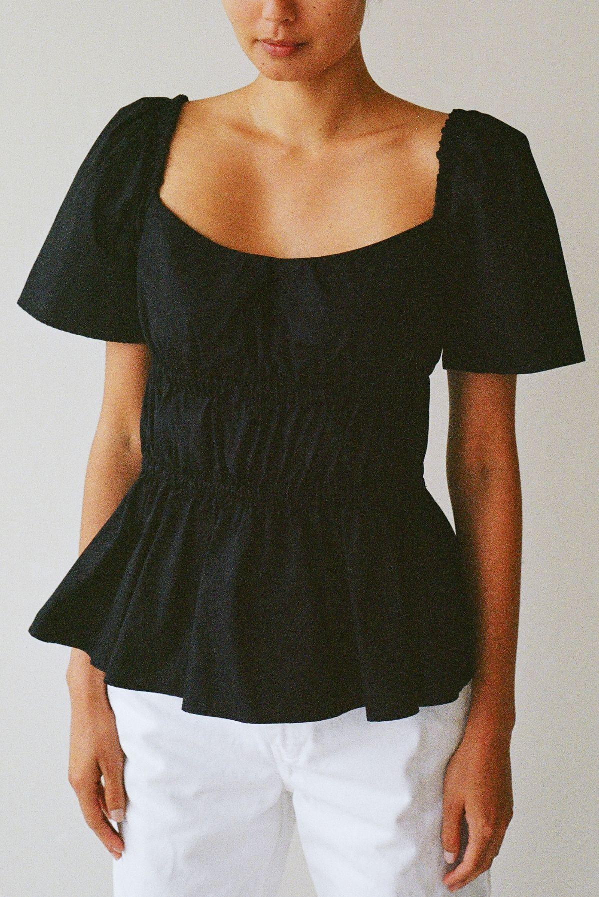 Bodice top black - Ellis Label - Womens designer clothing New Zealand_0027_82980003