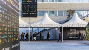 Expo Riva Schuh & Gardabags event building