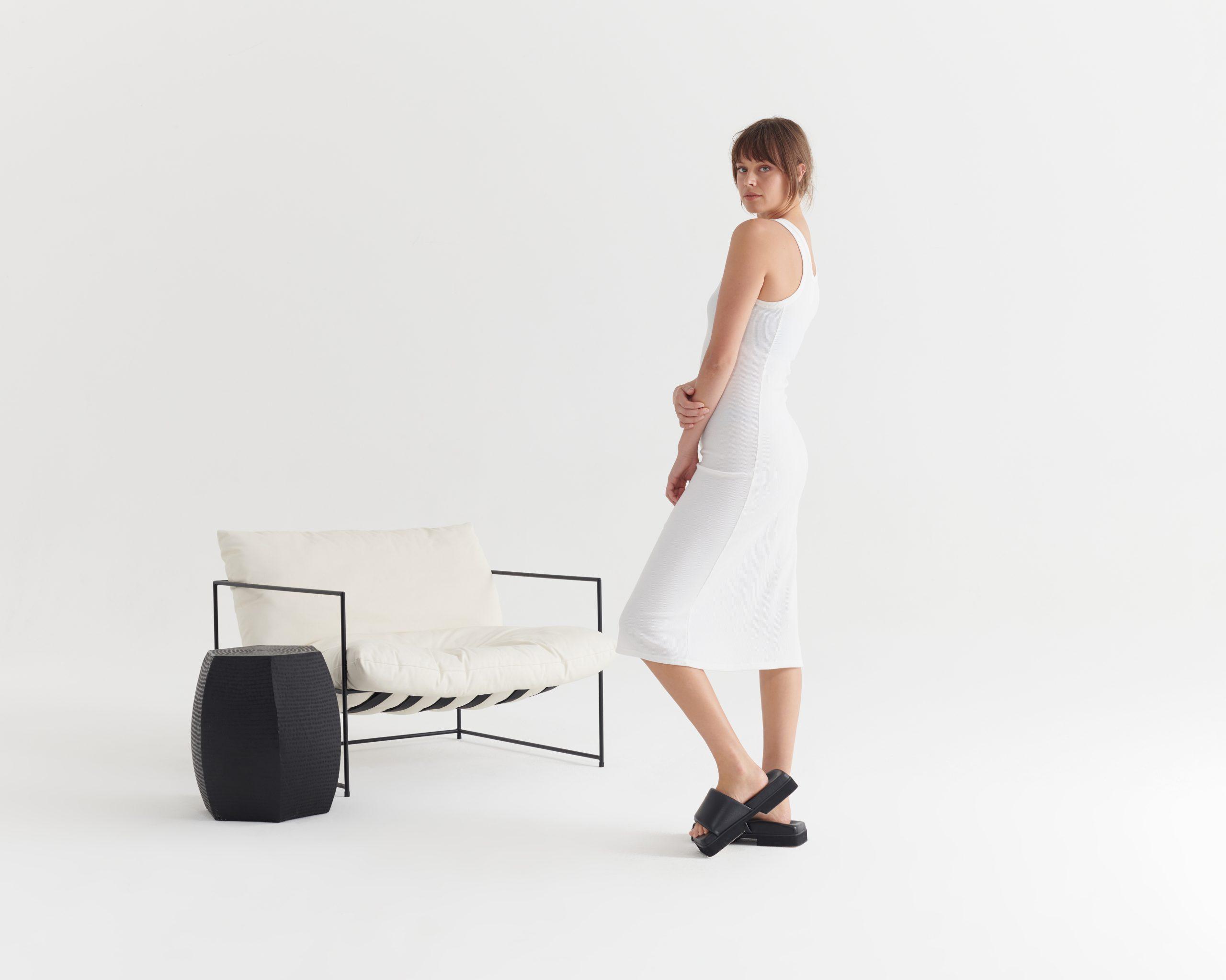 Evident-Tank-Dress-Ivory_Taylor_Recline_Pumice Grey