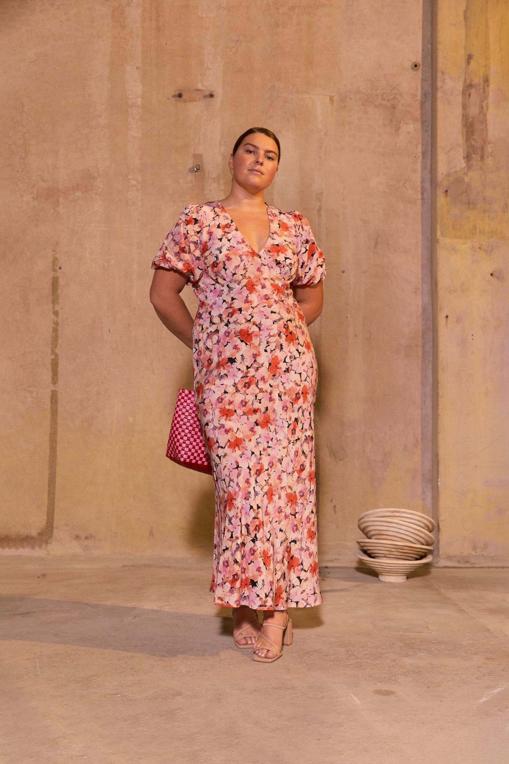 RUBY Aimee Silk Dress Anika