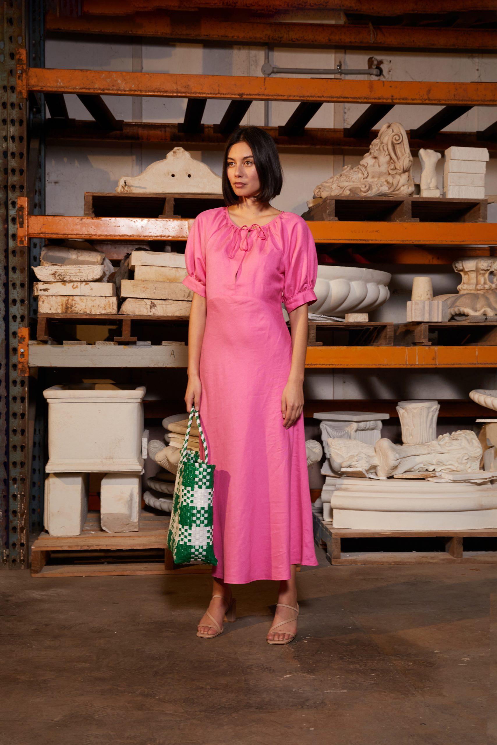 RUBY Calli Linen Dress