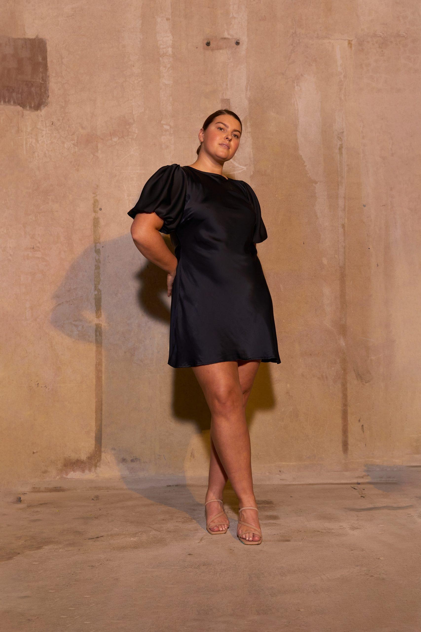 RUBY Kendall Satin Minidress